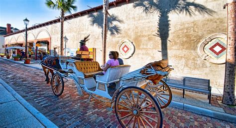augustine st florida historic aviles things street carriage ride fl history horse amazing drawn nature architecture a1a cocktail concert trail