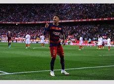 Neymar Photos Barcelona v Sevilla Copa del Rey Final