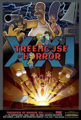 Treehouse Of Horror Xxi Wikipedia
