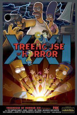Treehouse Of Horror Xxi Wikipedia