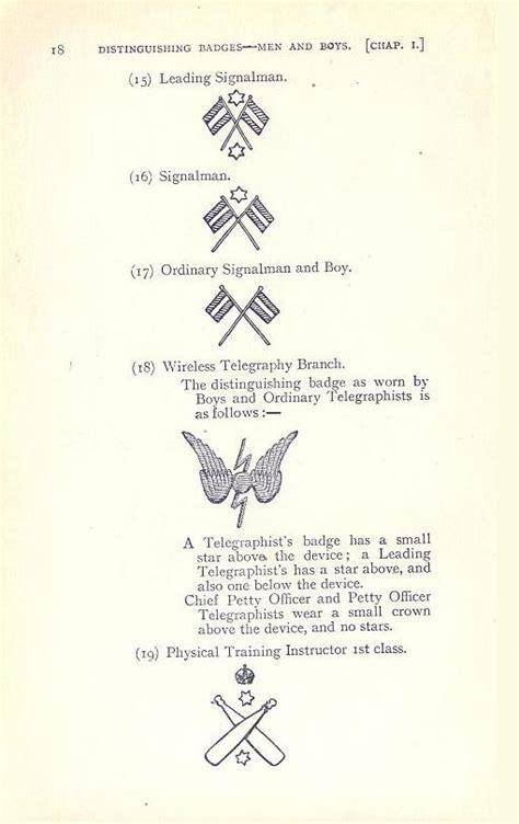 royal navy ranks  badges world war
