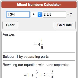 improper fraction calculator writing improper fractions as mixed numbers calculator scalien