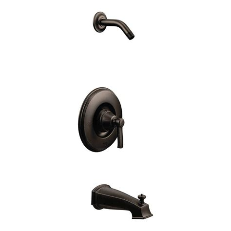 moen rothbury 1 handle tub and shower faucet trim kit with