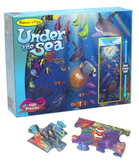 And Doug Floor Puzzles 100 by Doug The Sea 100 Floor Puzzle Toys