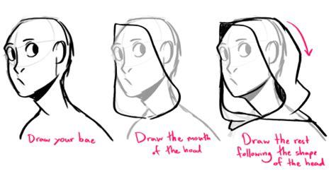 How Do You Draw Hoods/cloaks