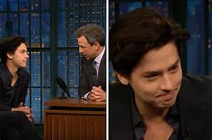 Seth Meyers Apologized To Cole Sprouse For Saying He Doesn ...