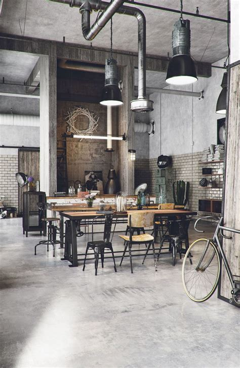 Best 25  Industrial ideas on Pinterest   Industrial loft