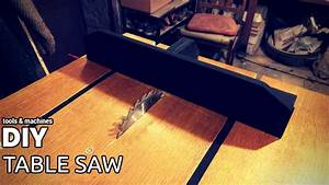 Diy Table Saw  Part 3 - Crosscut Sled