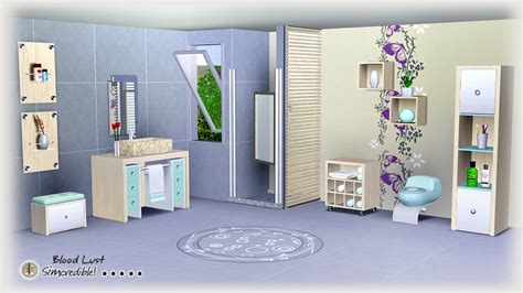 My Sims 3 Blog Bloodlust Bathroom By Simcredible Designs