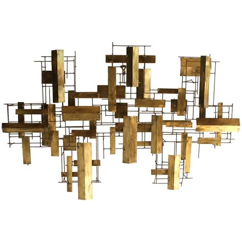 modern metal wall sculpture abstract metal wall sculpture at 1stdibs