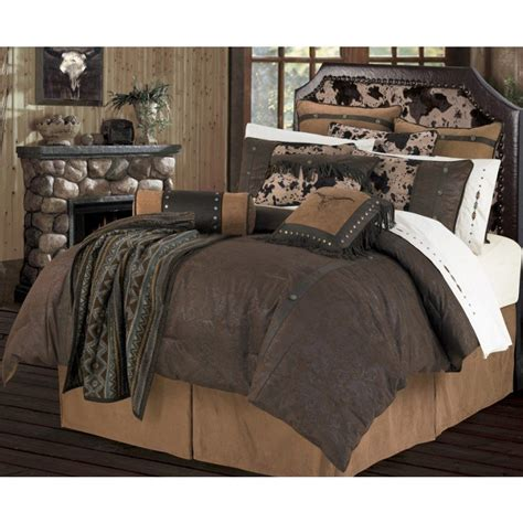 Cowhide Bedding Sets by Caldwell Faux Cowhide Bedding Decor By Homemax Imports