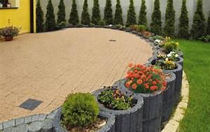 Struktur Farbe Obi : pflanzsteine setzen und bepflanzen gartengestaltung ideen ~ Michelbontemps.com Haus und Dekorationen