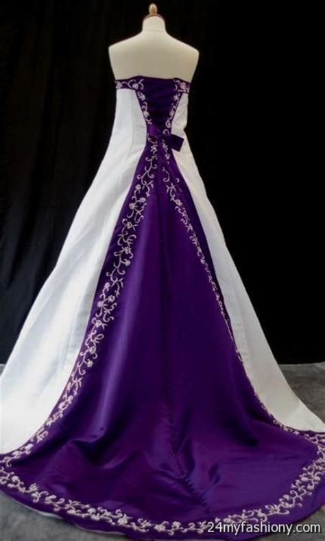 blue and purple wedding dress purple and blue wedding dresses 2016 2017 b2b fashion
