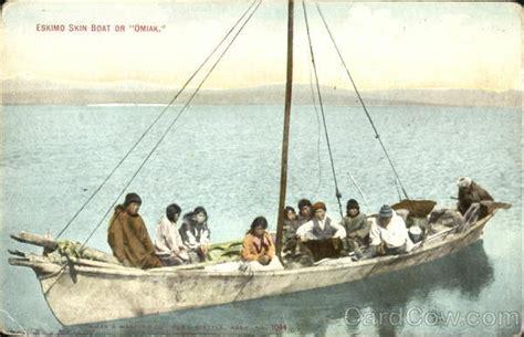 Eskimo Boat by Eskimo Skin Boat Or Omiak Alaska Americana