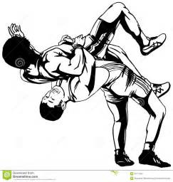 Free Vector Wrestling Clipart (66+)