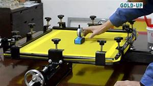 Operation Manual Of Screen Stretcher  With Images
