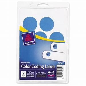 avery round color coding multipurpose label ave05496 With avery 1 circle labels