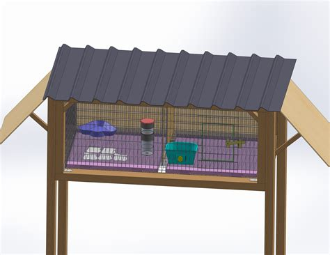 how to build a rabbit hutch with pictures 4 ways to build a rabbit hutch wikihow