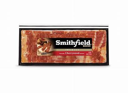 Bacon Smithfield Cherrywood Cut Smoked Thick Oz