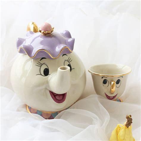 Günstige Cartoon Schönheit Und Das Biest Kaffeekanne Tee
