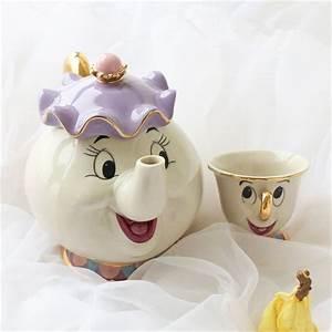 Porzellan Und Keramik : g nstige cartoon sch nheit und das biest kaffeekanne tee set porzellan kreative keramik ~ Markanthonyermac.com Haus und Dekorationen