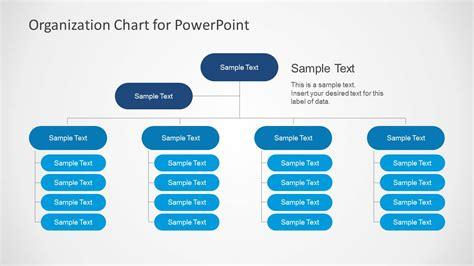 simple organizational chart template  powerpoint