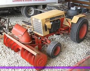 Case 446 Garden Tractor With Seven Attachments