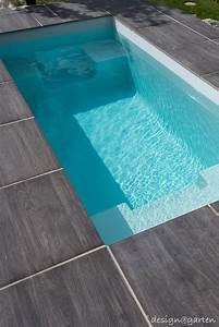 saunatauchbecken minipool wat designgarten With französischer balkon mit mini pool im garten bauen