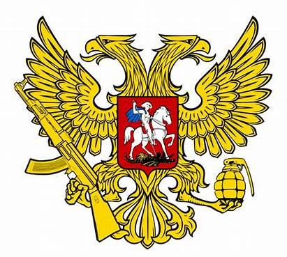 Arms Coat Russia Transparent Russian Militant Eagle
