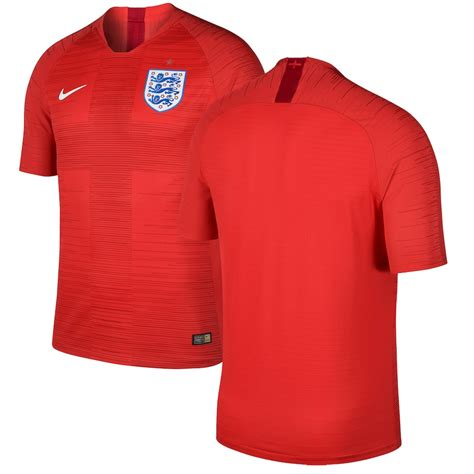 Nike England National Team Red 2018 Away Authentic Vapor ...