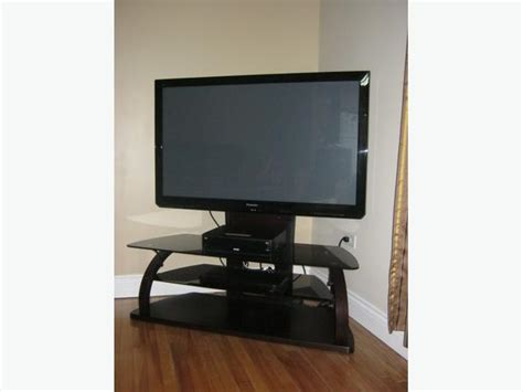 50 In. Panasonic Viera Hd Plasma Tv (720p) And Stand 5