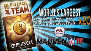 Madden 15 Ultimate Team :: Worlds Largest QuickSell Bundle ...
