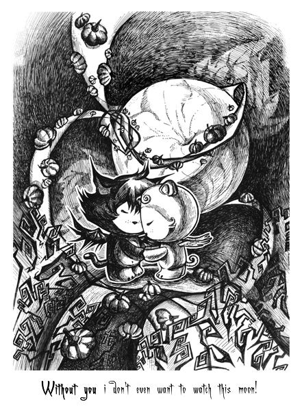 Halloween Ink Fantasy Drawing Feoris Deviantart