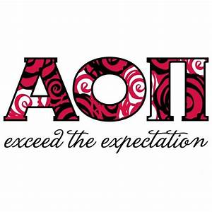 1000 images about aoii on pinterest alpha omicron pi With alpha omicron pi letters