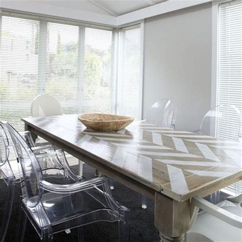 home dzine home decor add  stencil design   dining table