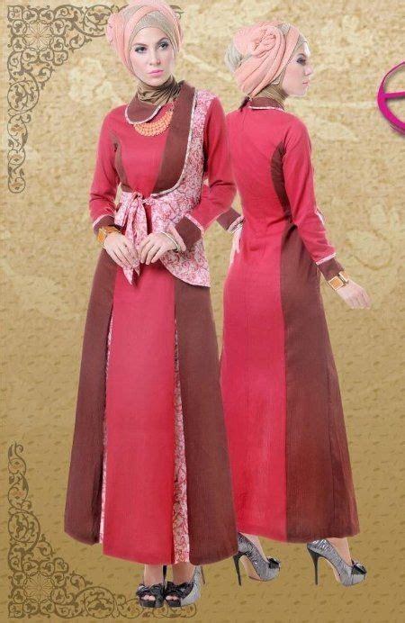Harga Baju Gamis Merk Zainab model baju batik muslim gamis trend baju batik terbaru