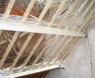 dakisolatie doet isoal aan de binnenzijde van uw dak