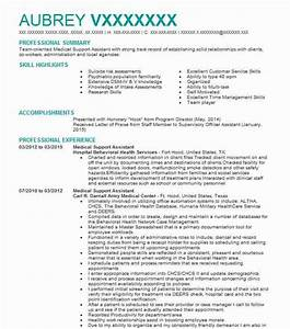 Administrative Assistant Resume Objectives Medical Support Assistant Objectives Resume Objective