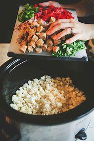 Healthy Slow Cooker Breakfast Casserole