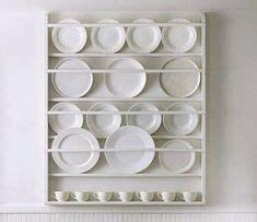 triciafoleycom white   plates  wall plate rack wall plate racks  kitchen