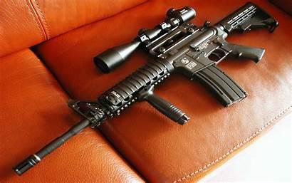 Assault Rifle M16 Wallpapers Gun Weapons Police