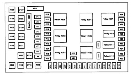 2004 Ford Fuse Diagram by 2004 Ford F350 Fuse Panel Diagram Needed
