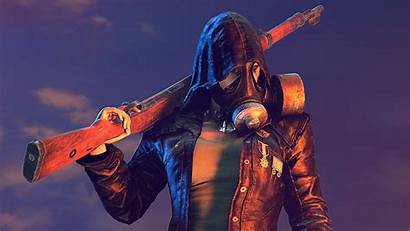 Pubg Mask Gas Wallpapers Guy 4k Games