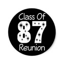 high school class reunion invitations class reunion stickers zazzle