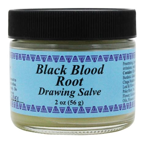 buy wise ways black blood root drawing salve  oz
