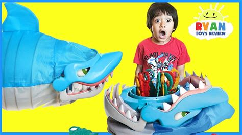 what is a fun game to play at christmas with family shark bite let s go fishin family for