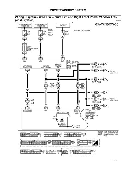 2006 Nissan Maxima Wiring Diagram Window by Repair Guides Glasses Window Systems Mirrors 2002
