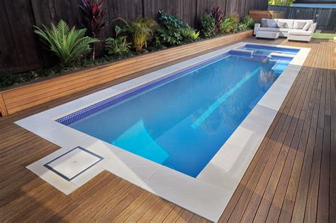 plunge pool plunge pool spa rouse hill crystal pools