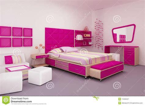 photographie à la chambre chambre à coucher de fille photographie stock libre de