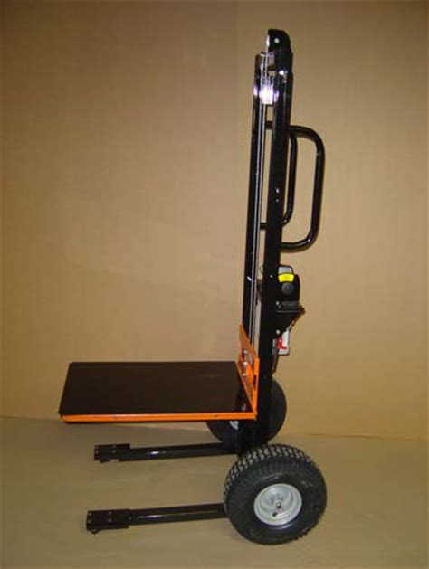 slot machine mover hand truck  electric lift stacker